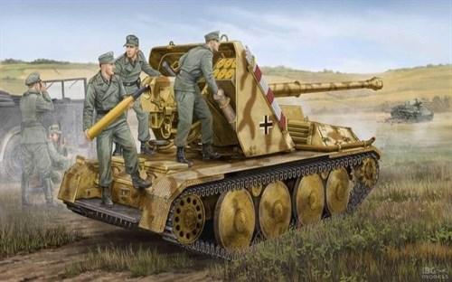 САУ  Waffentrager 8,8cm PAK-43 (1:35) - фото 36206