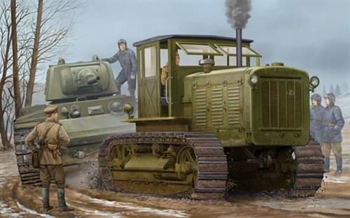 Трактор  ЧТЗ С-65 с кабиной (1:35) - фото 36214