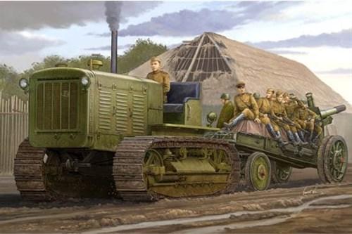 """Трактор  ЧТЗ С-65 """"Сталинец"""" (1:35) - фото 36215"""