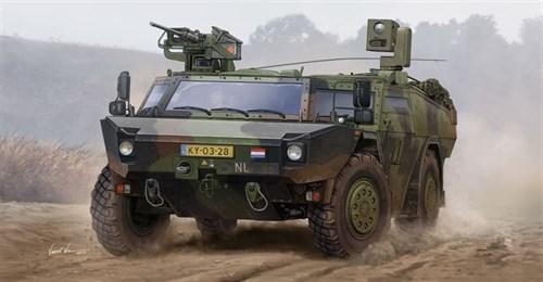 Немецкий бронеавтомобиль LGS (1:35) - фото 36218