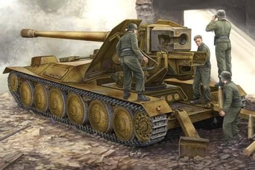 """САУ  """"Крупп"""" 128-мм Pak44 (1:35) - фото 36228"""