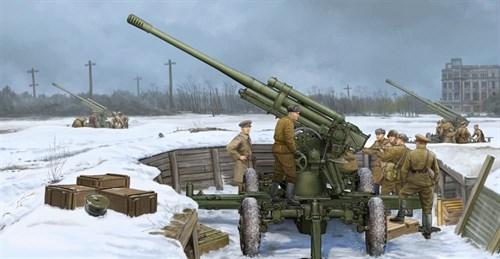 85-мм зенитная пушка 52-К образца 1939 года (1:35) - фото 36242
