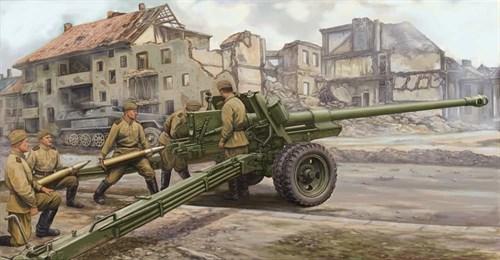 100-мм противотанковая пушка образца 1944 года БС-3 (1:35) - фото 36248