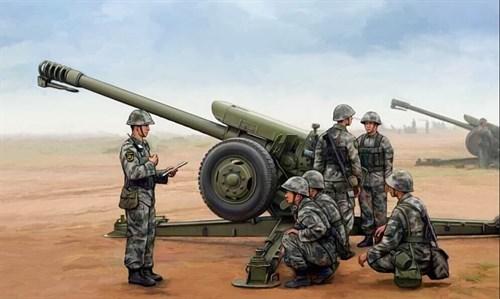 122-мм гаубица PL96 (1:35) - фото 36249