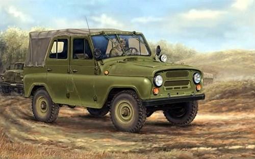 Автомобиль  УАЗ-469 (1:35) - фото 36252