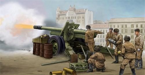 152-мм гаубица-пушка образца 1937 года МЛ-20  стандартная (1:35) - фото 36255