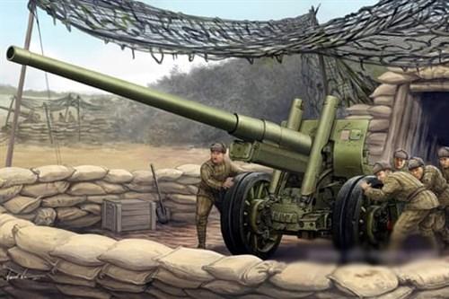122-мм пушка образца 1931/37 годов А-19 (1:35) - фото 36259
