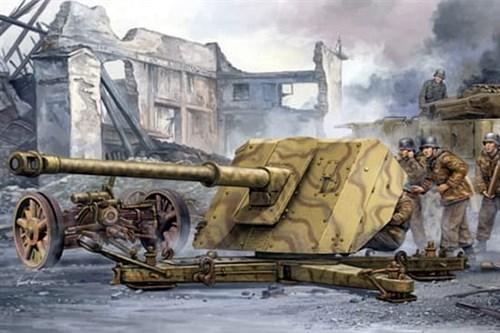 Немецкая 88-мм противотанковая пушка Pak 43/41 (1:35) - фото 36264