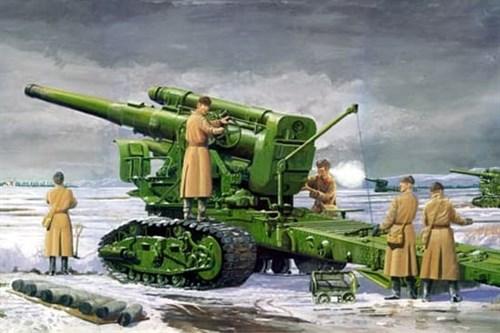 203мм гаубица Б-4 мод.1931г. (1:35) - фото 36265