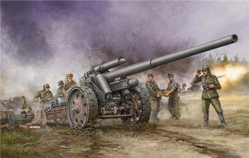 Пушка  10-см К.18 (1:35) - фото 36267
