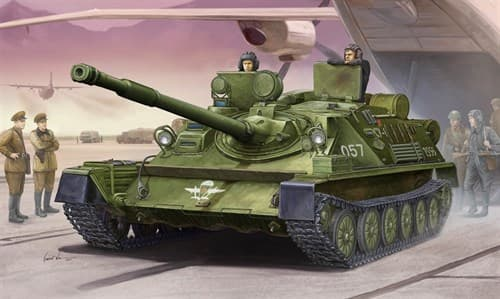 САУ  АСУ-85 М1956 (1:35) - фото 36278