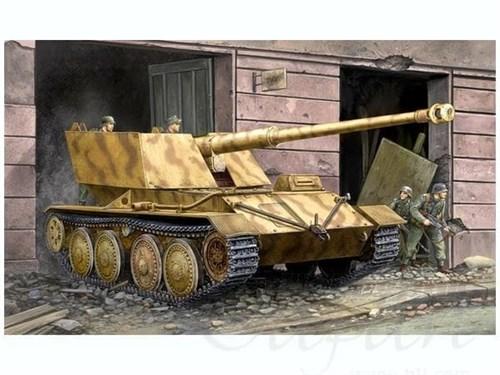 САУ  Крупп/Арделт 88-мм Pak43 (1:35) - фото 36279