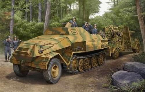 БТР  Sd.Kfz. 8 DB10 бронированный 12t (1:35) - фото 36282