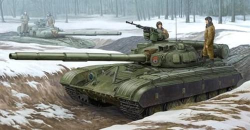 Танк  Т-64Б мод. 1975 (1:35) - фото 36285