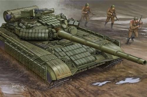 Soviet T-64AV MOD 1984  (1:35) - фото 36286