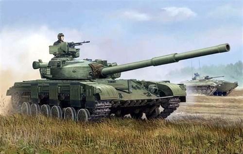 Танк  Т-64 мод. 1972г. (1:35) - фото 36288
