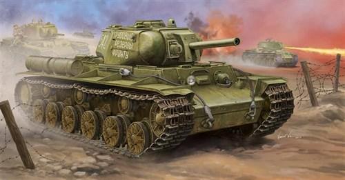 Танк  КВ-8С (1:35) - фото 36291