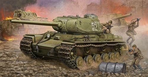 Танк  КВ-85 (1:35) - фото 36292