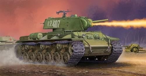 Танк  Kv-8s Welded Turret (1:35) - фото 36293
