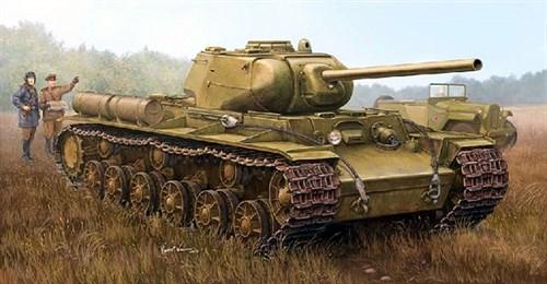 Kv-1s/85 Heavy Tank  (1:35) - фото 36294