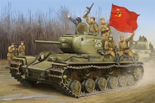 Танк  КВ-1С (1:35) - фото 36295