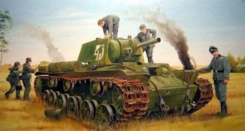 Танк  КВ-8 (1:35) - фото 36296