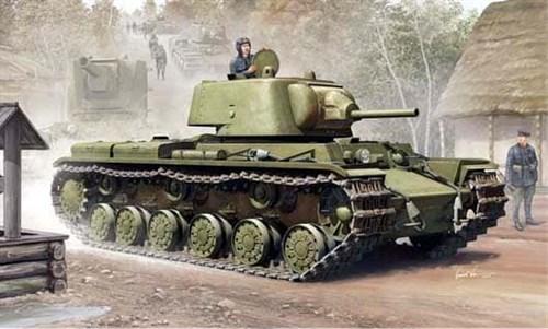 Танк  КВ-1 модель 1939 г. (1:35) - фото 36300