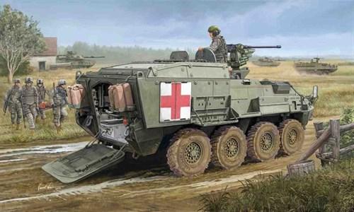 """Американский  БТР  M1133 """"Страйкер""""  MEV (1:35) - фото 36301"""