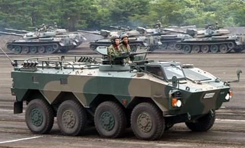 Японский  БТР Тип 96 WAPC (1:35) - фото 36303