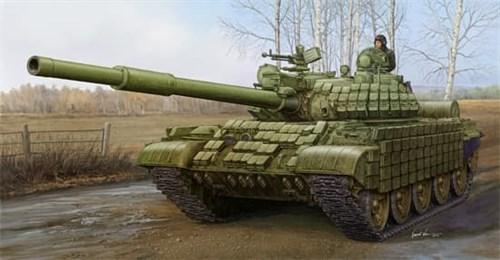 Танк  Т-62 с динамической защитой мод.1972 (1:35) - фото 36304