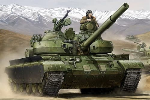 Russian T-62 BDD Mod.1984 (Mod.1972 modification)  (1:35) - фото 36306