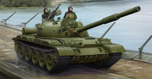 Танк советский средний Т-62 мод.1975 +КТД2 (1:35) - фото 36307