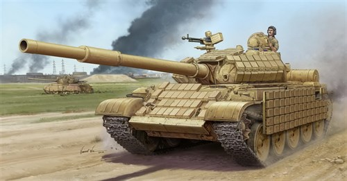 Танк  Т-62 ЭРА мод. 1972 (Ирак) (1:35) - фото 36308