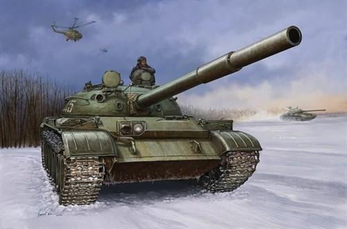Танк  Советский T-62 мод.1960 (1:35) - фото 36309