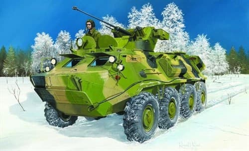 Russian Btr-60pb Upgraded  (1:35) - фото 36310