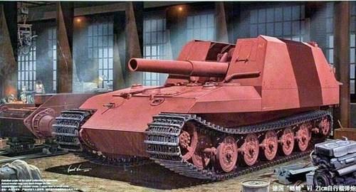 Немецкая 210 мм. САУ Тигр Грилле (1:35) - фото 36314