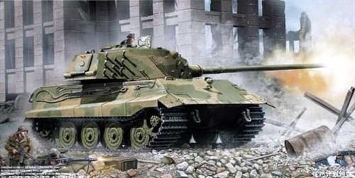 Немецкий танк Е-75 (1:35) - фото 36315