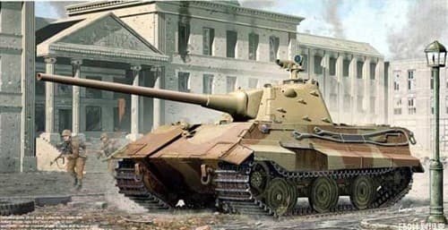 Немецкий танк Е-50 (1:35) - фото 36317