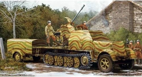 37 мм Flak 43 на Sd Kfz. 7/2 (1:35) - фото 36321