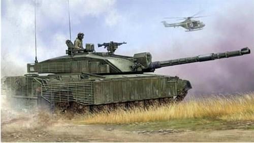 """Танк  """"Челленджер"""" с навесной броней  (1:35) - фото 36324"""