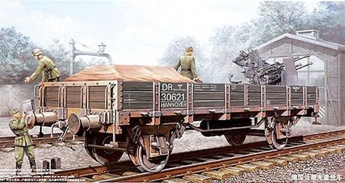 Немецкая железнодорожная платформа (1:35) - фото 36326