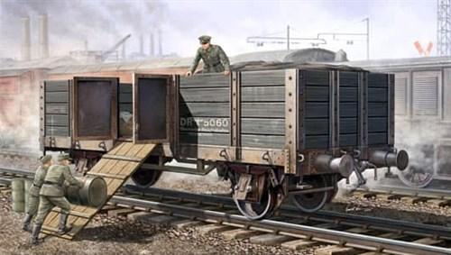 Железножорожный полувагон (1:35) - фото 36327