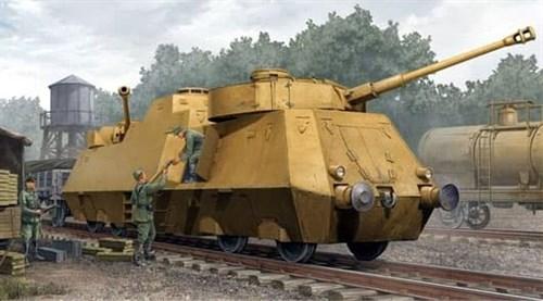 Немецкий противотанковый броневагон (1:35) - фото 36328