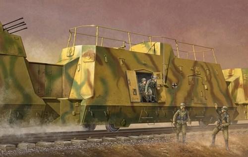 Штабной броневагон (1:35) - фото 36334