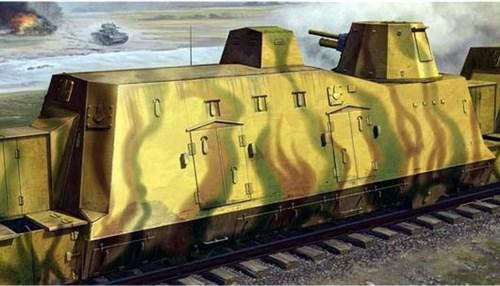 Артиллерийский броневагон (1:35) - фото 36335