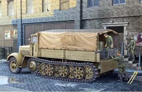 8-тонный транспортер (поздняя версия) (1:35) - фото 36337
