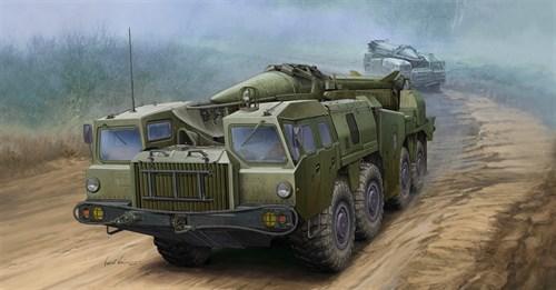 """Советский комплекс 9К72 """"Эльбрус"""" с баллистической ракетой Р-17 (1:35) - фото 36342"""