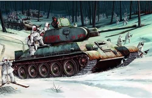 Танк  Т-34/76 мод. 1942 г. (1:16) - фото 36350