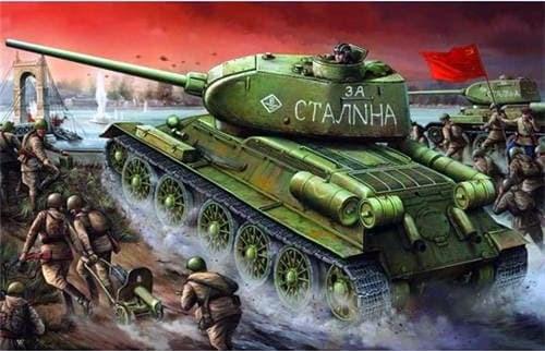 Танк  Т-34/85 мод.1944 г. завода №174 (1:16) - фото 36351