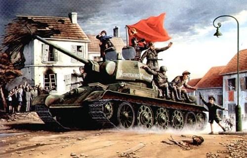 Танк  Т-34/76 мод. 1943 г. (1:16) - фото 36352